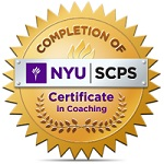NYU Coaching badge 150