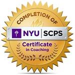 NYU Coaching badge 150